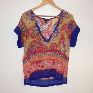Tommy Bahama Silk  Blouse. Size small